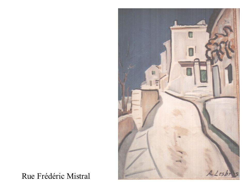 Rue Frédéric Mistral