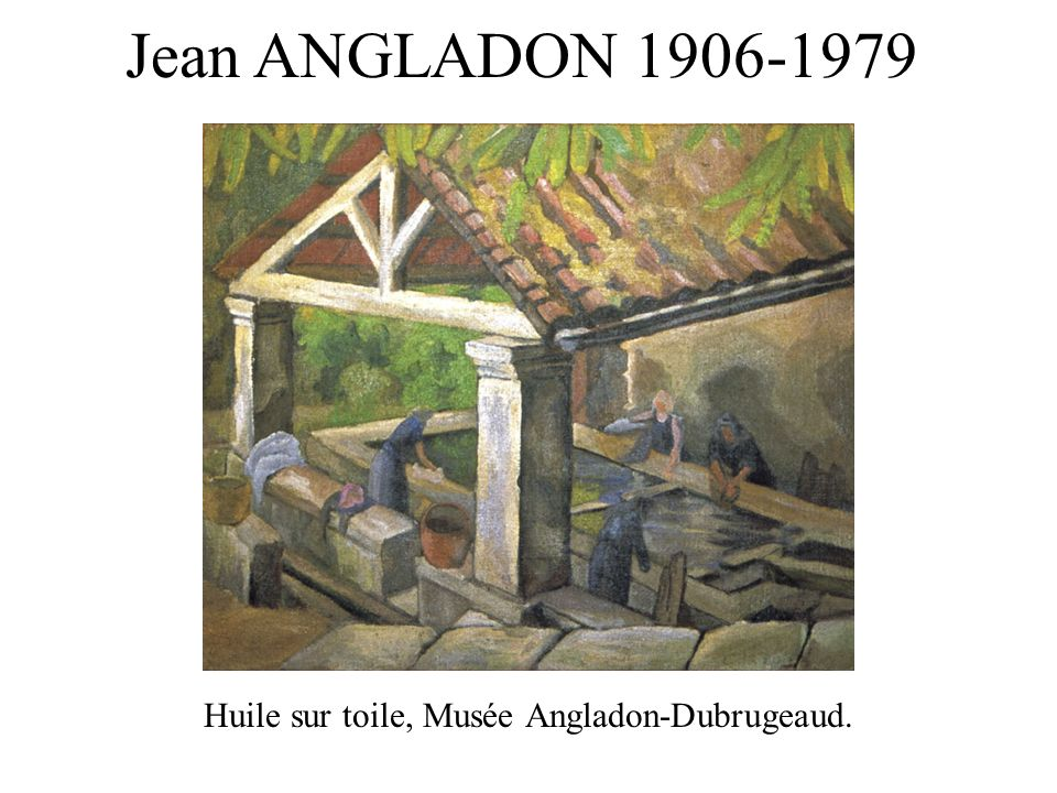 Huile sur toile, Musée Angladon-Dubrugeaud.