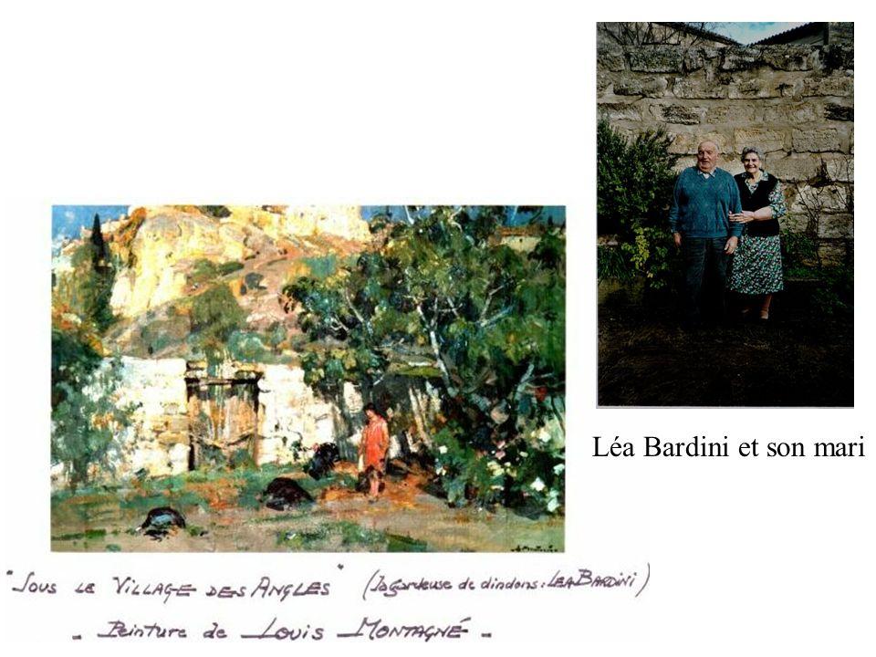 Léa Bardini et son mari