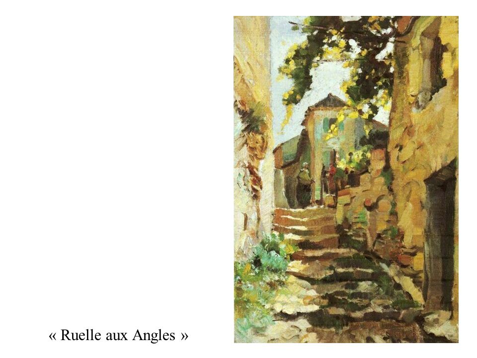 « Ruelle aux Angles »