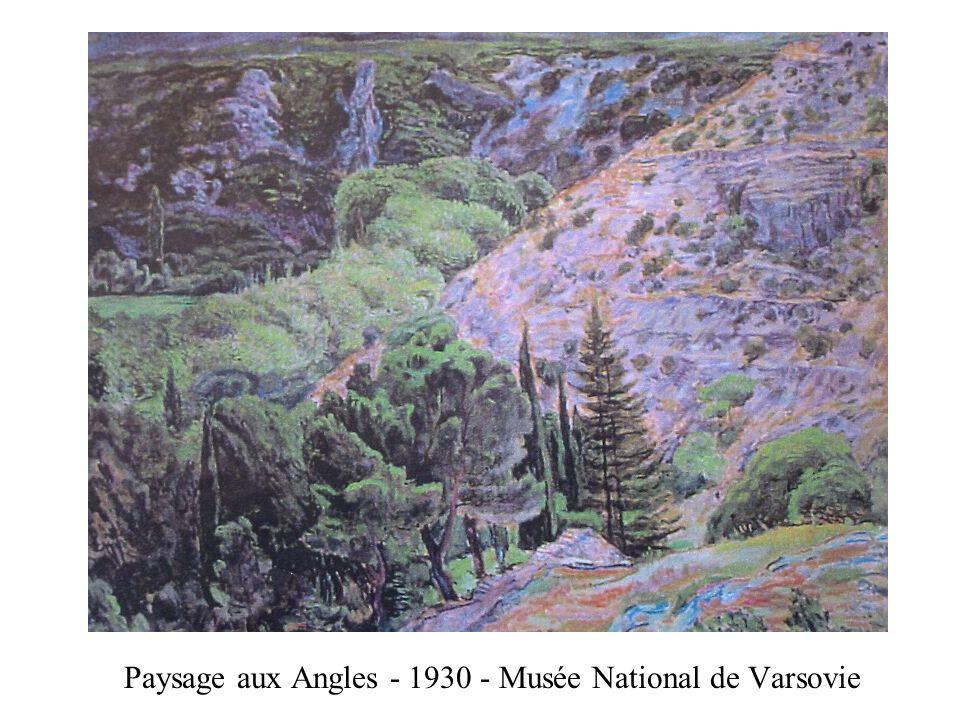 Paysage aux Angles - 1930 - Musée National de Varsovie