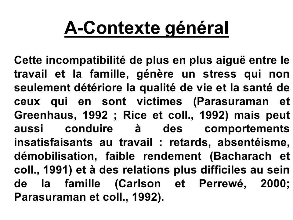 A-Contexte général