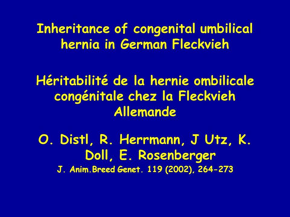 O. Distl, R. Herrmann, J Utz, K. Doll, E. Rosenberger