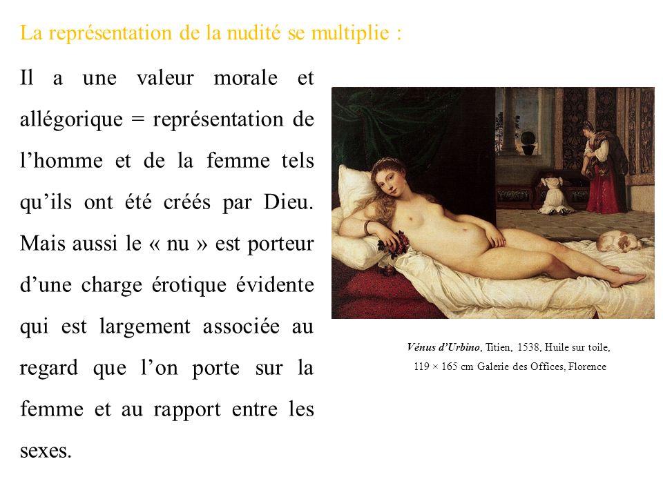 La représentation de la nudité se multiplie :