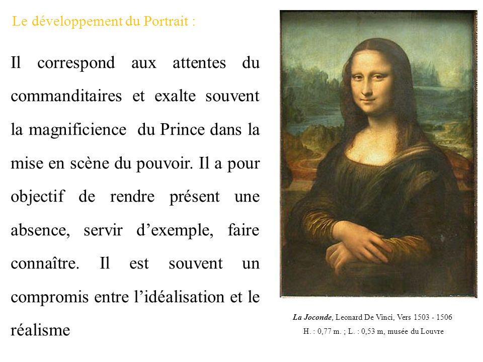 Le développement du Portrait :