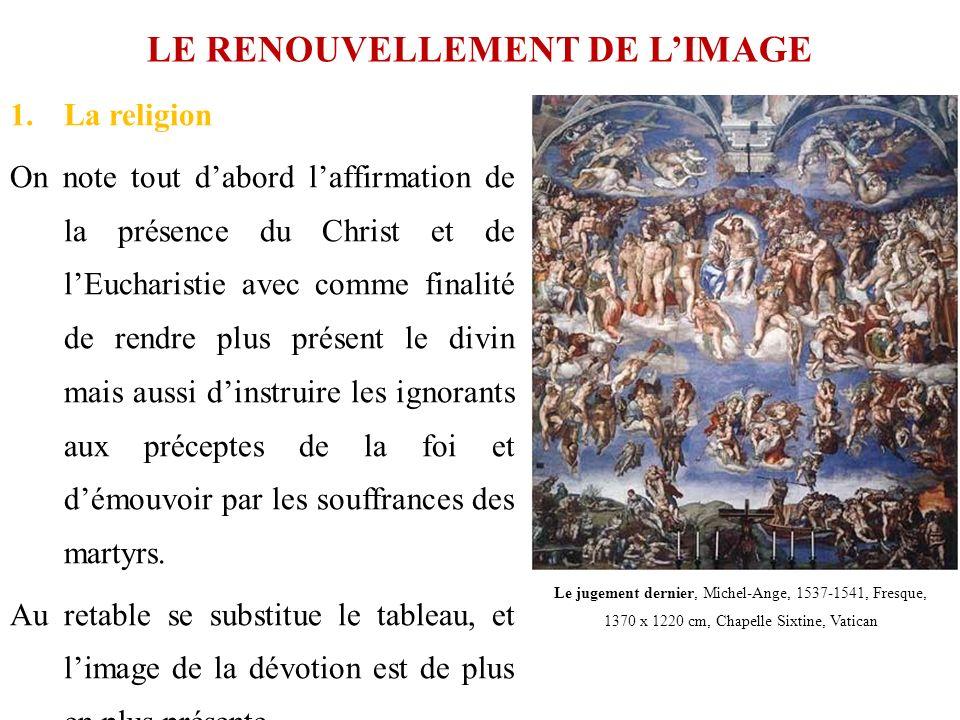 LE RENOUVELLEMENT DE L'IMAGE
