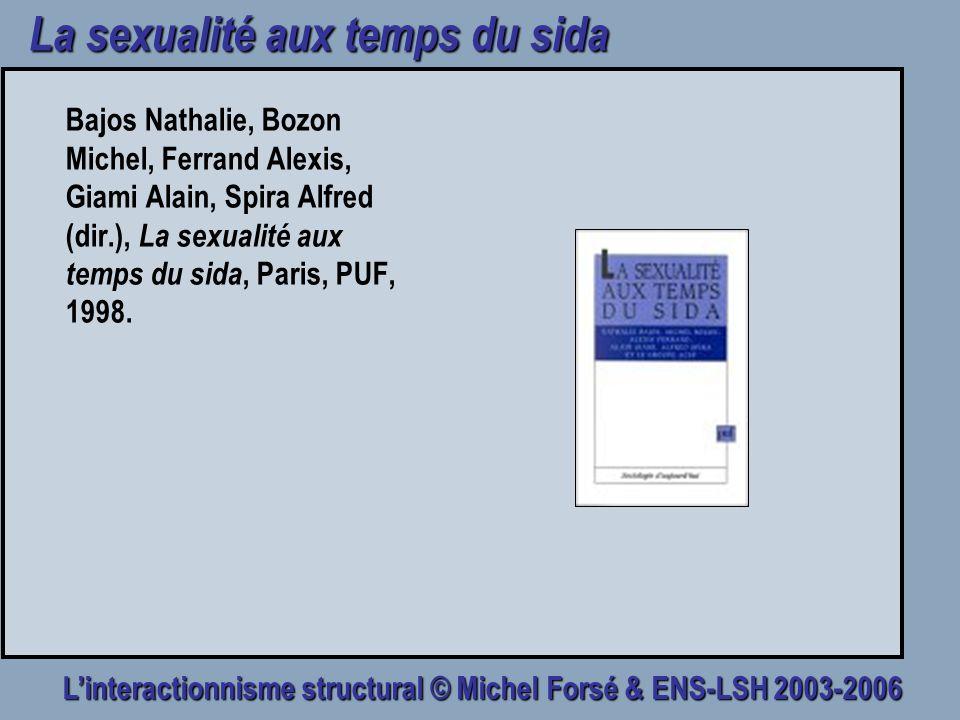 La sexualité aux temps du sida