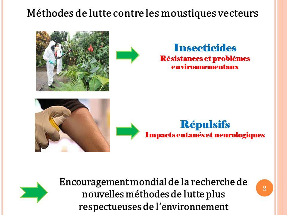 Méthodes de lutte contre les moustiques vecteurs