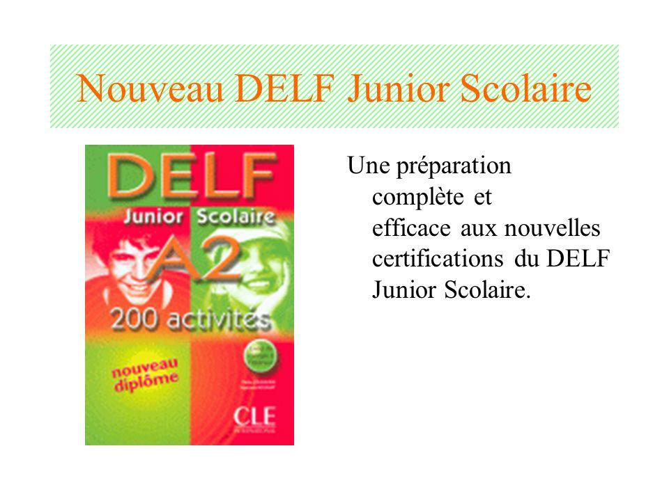 Nouveau DELF Junior Scolaire