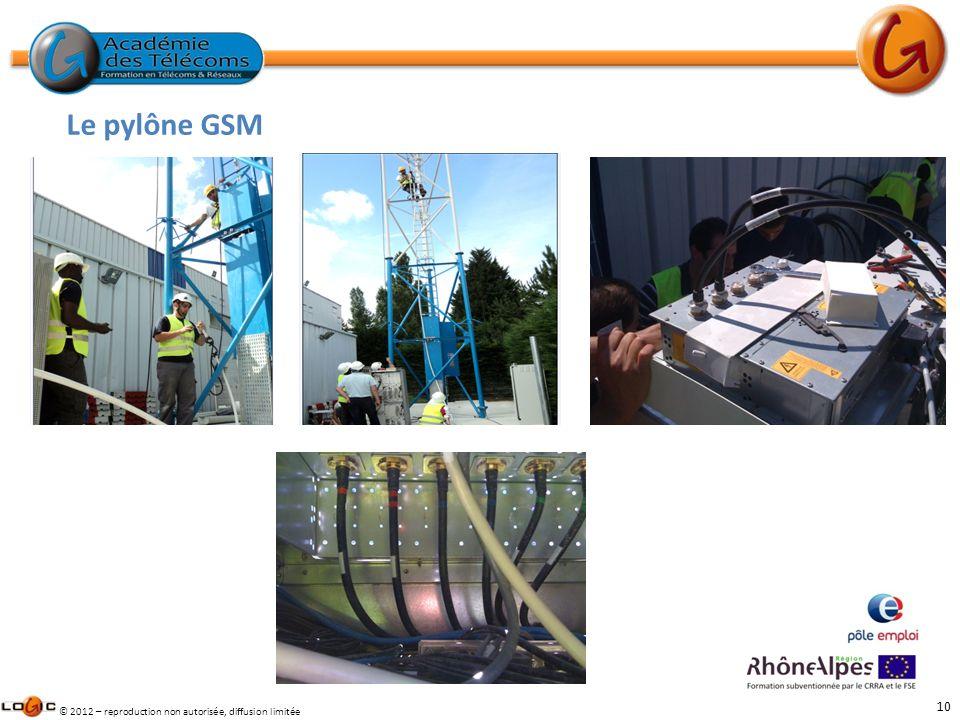 Le pylône GSM Des stagiaires dans les œuvres sur notre pylône en partenariat avec la société GRANIOU.