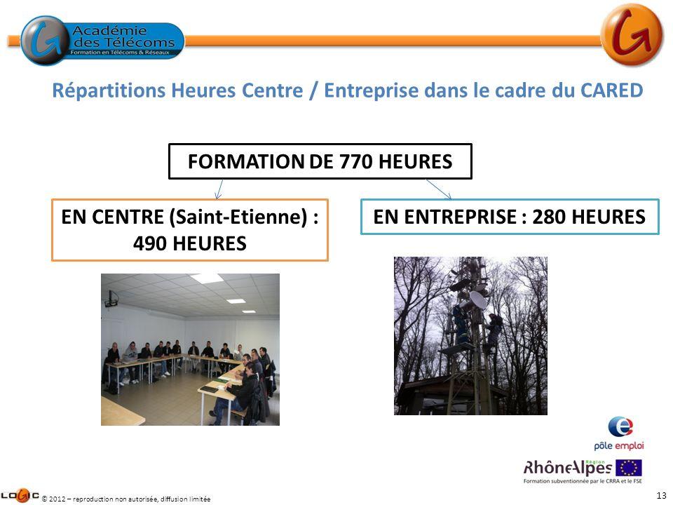 EN CENTRE (Saint-Etienne) : 490 HEURES