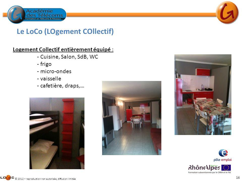 Le LoCo (LOgement COllectif)