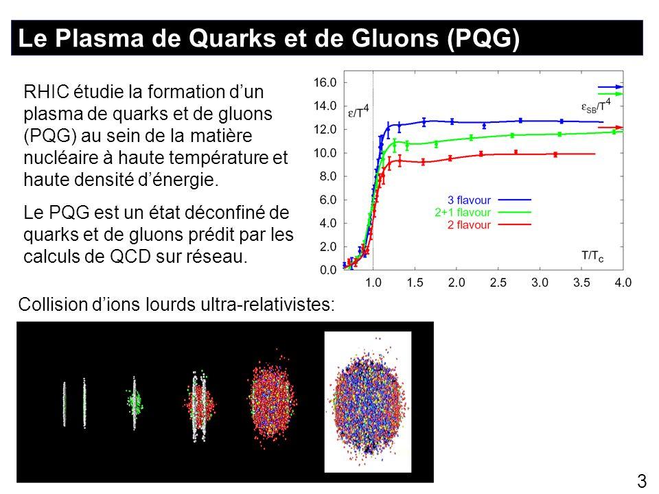 Le Plasma de Quarks et de Gluons (PQG)