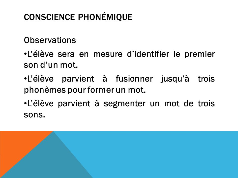 Conscience phonémique