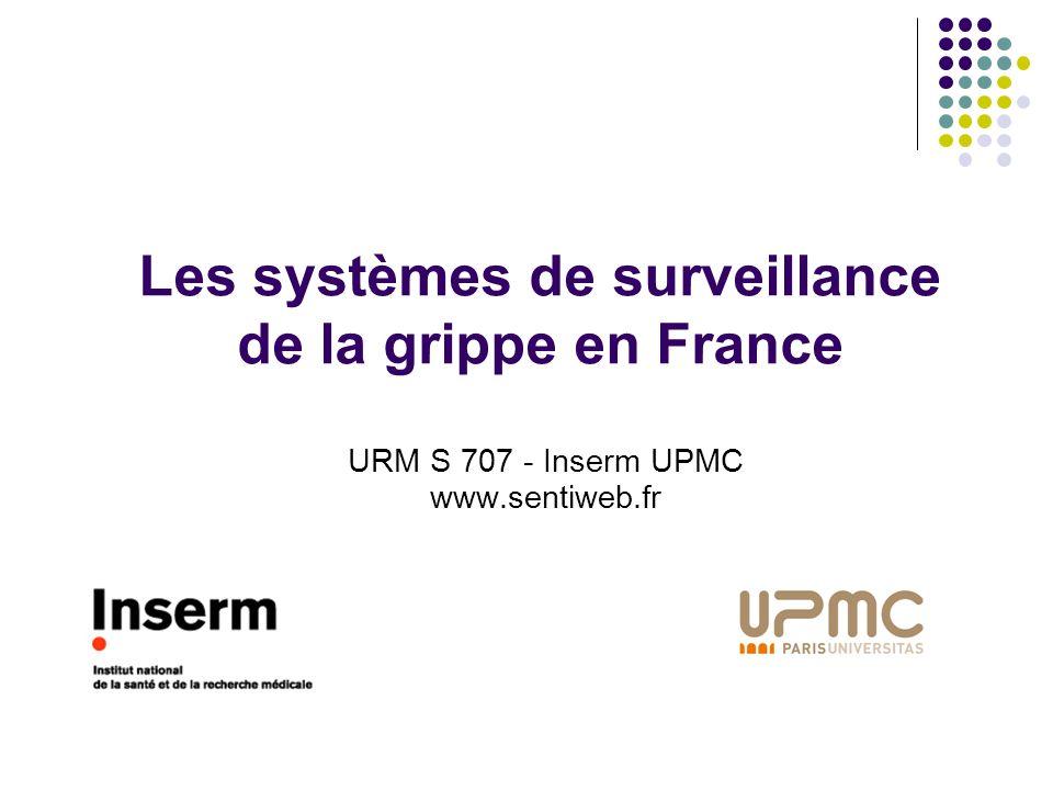 Les systèmes de surveillance de la grippe en France
