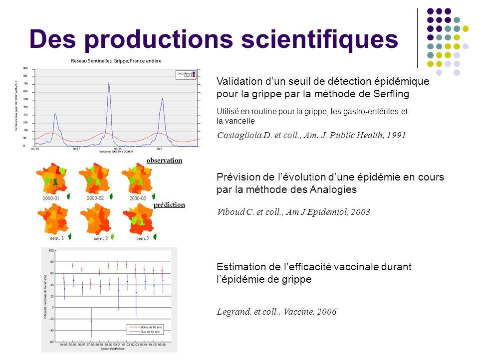 Des productions scientifiques