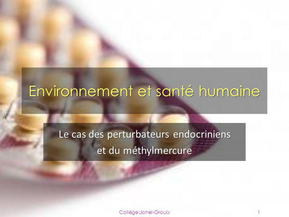 Environnement et santé humaine