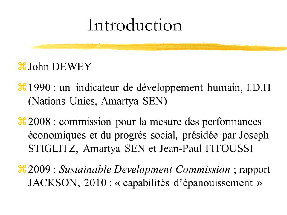 Introduction John DEWEY