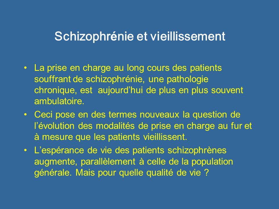 Schizophrénie et vieillissement