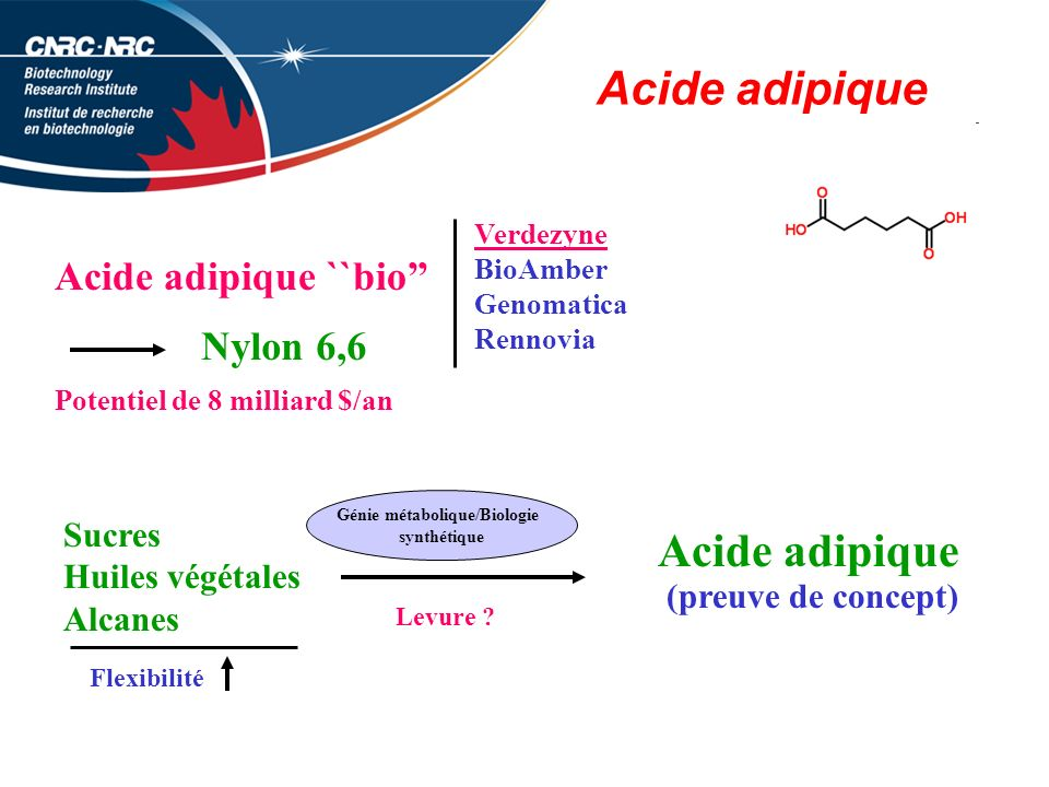 Génie métabolique/Biologie