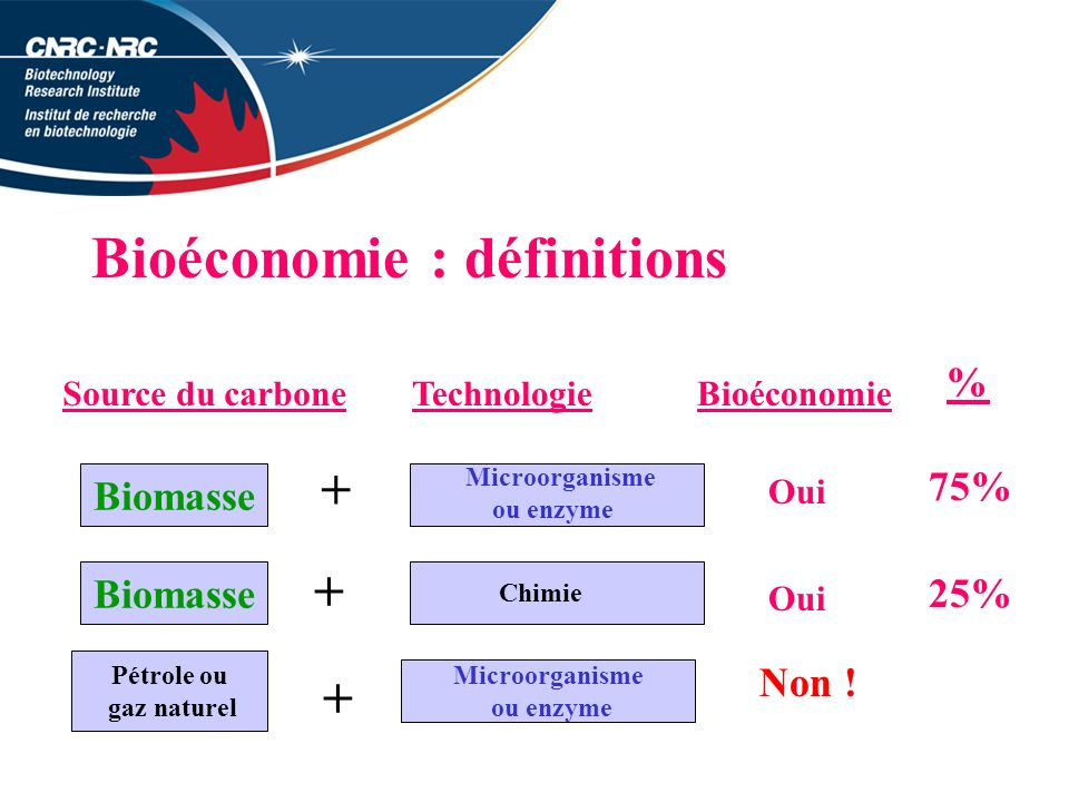 Bioéconomie : définitions