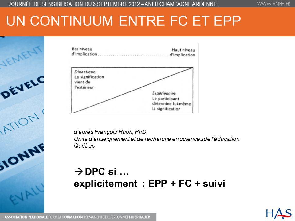 un continuum entre FC et EPP