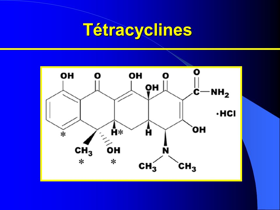 Tétracyclines