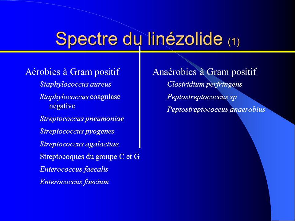 Spectre du linézolide (1)