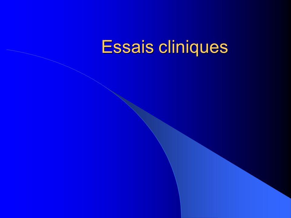 Essais cliniques