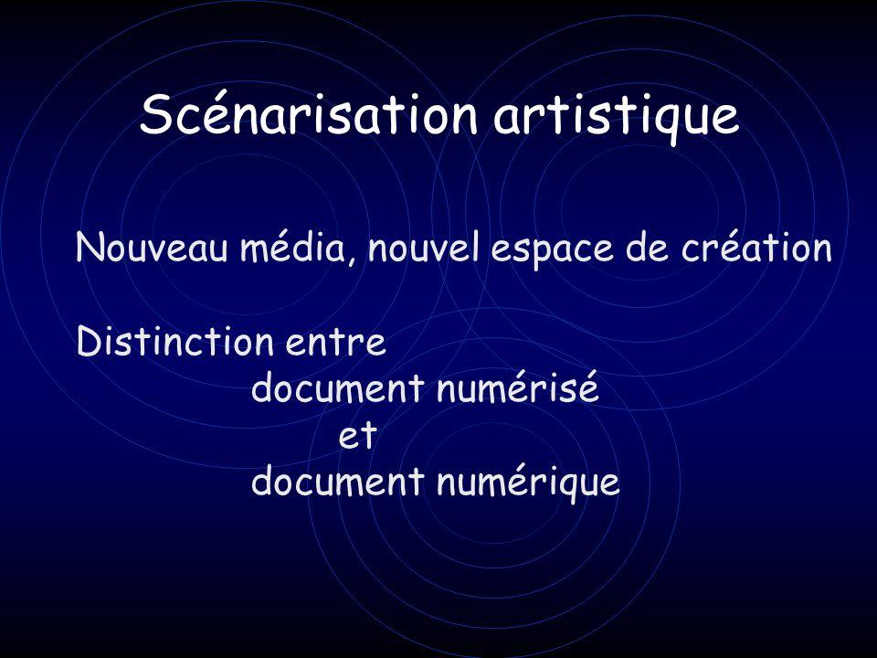 Scénarisation artistique