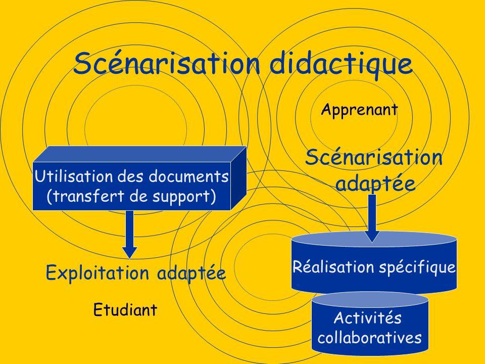Scénarisation didactique