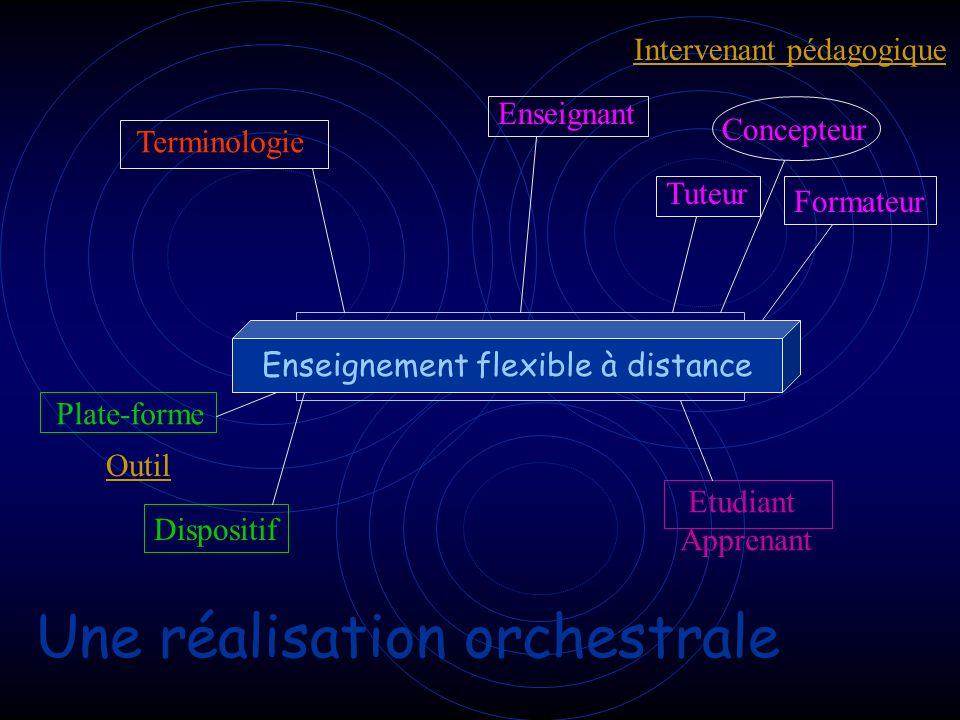 Une réalisation orchestrale