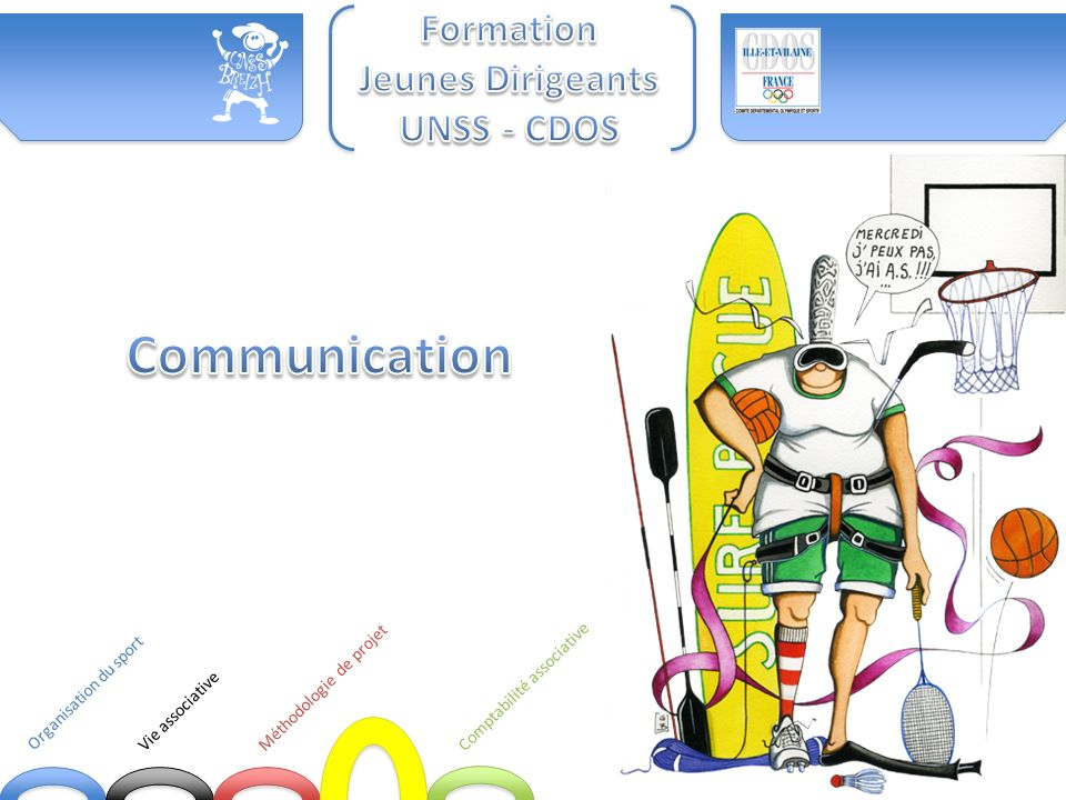 Communication Formation Jeunes Dirigeants UNSS - CDOS