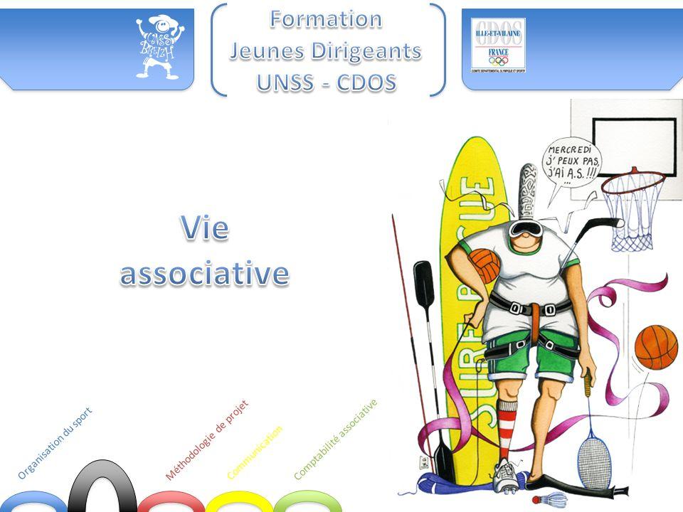 Vie associative Formation Jeunes Dirigeants UNSS - CDOS