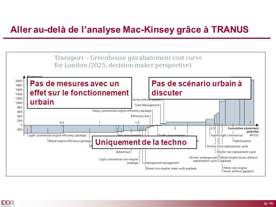 Aller au-delà de l'analyse Mac-Kinsey grâce à TRANUS