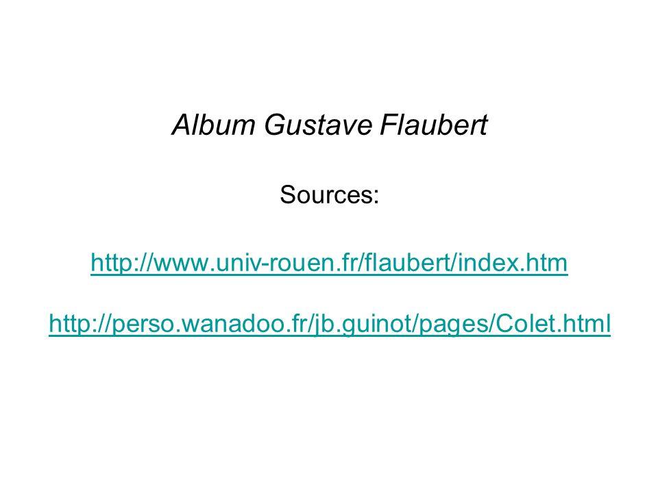 Album Gustave Flaubert