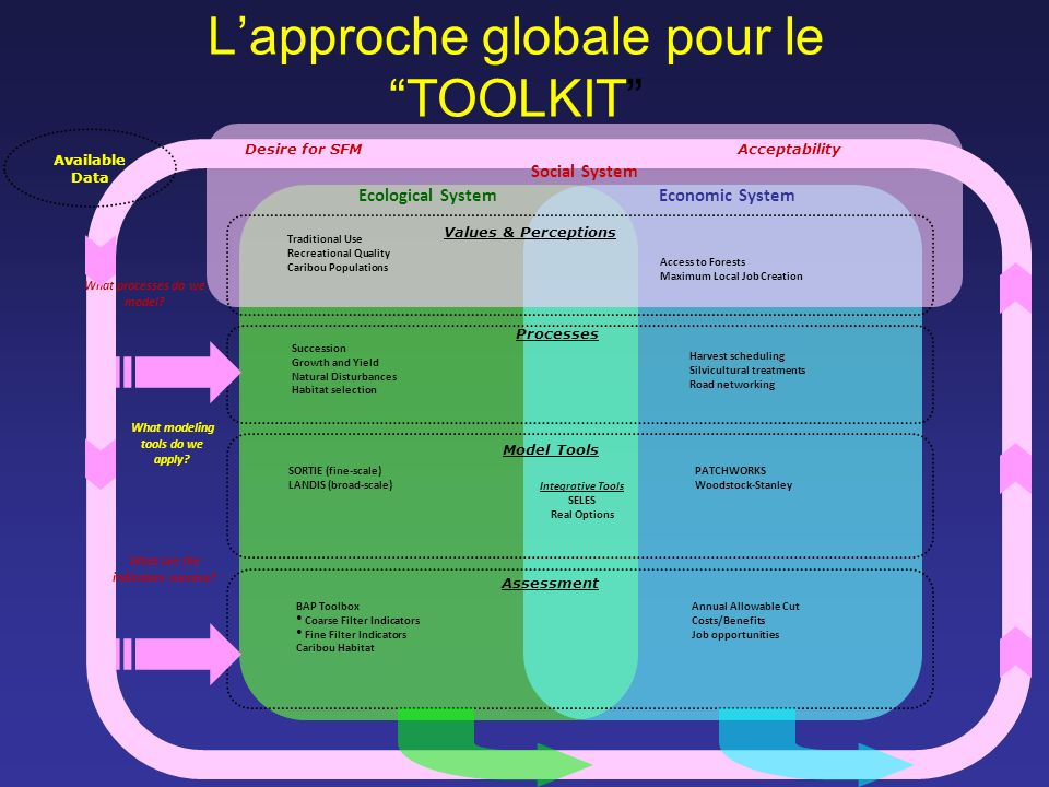 L'approche globale pour le TOOLKIT