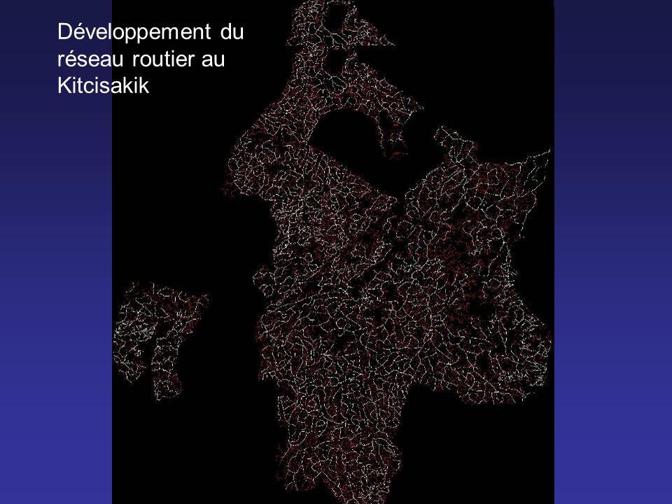 Développement du réseau routier au Kitcisakik