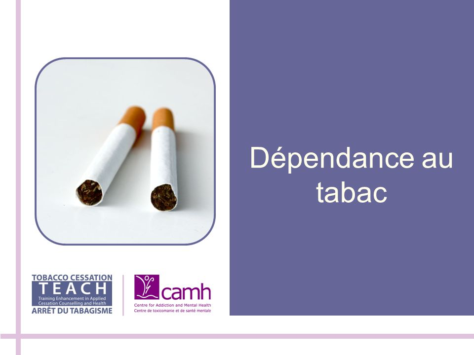 Dépendance au tabac 100