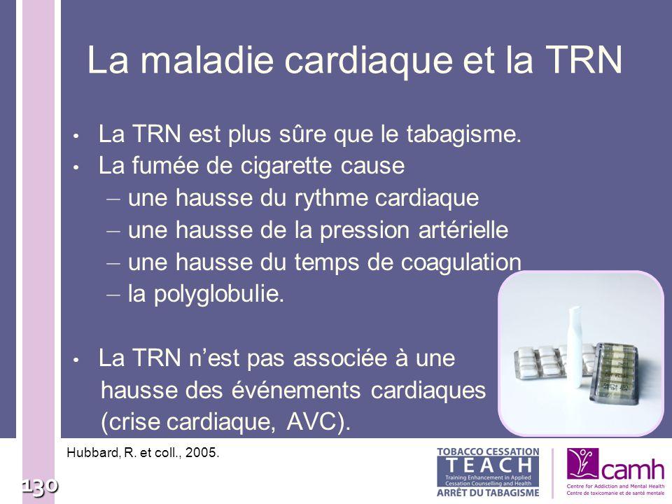 La maladie cardiaque et la TRN