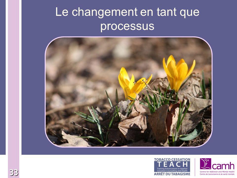 Le changement en tant que processus