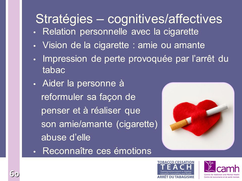 Stratégies – cognitives/affectives