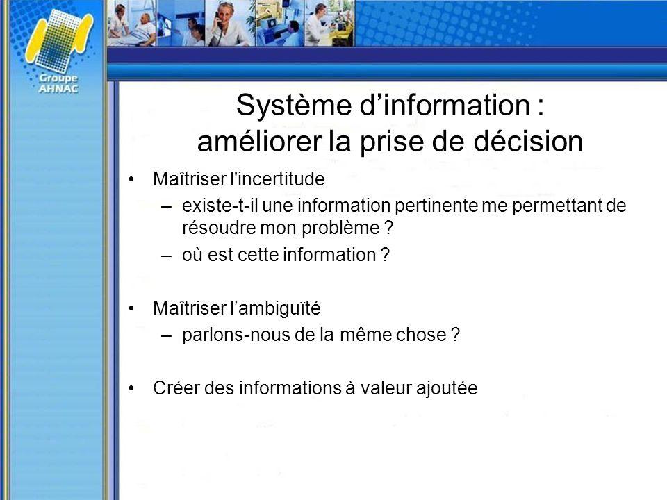 Système d'information : améliorer la prise de décision