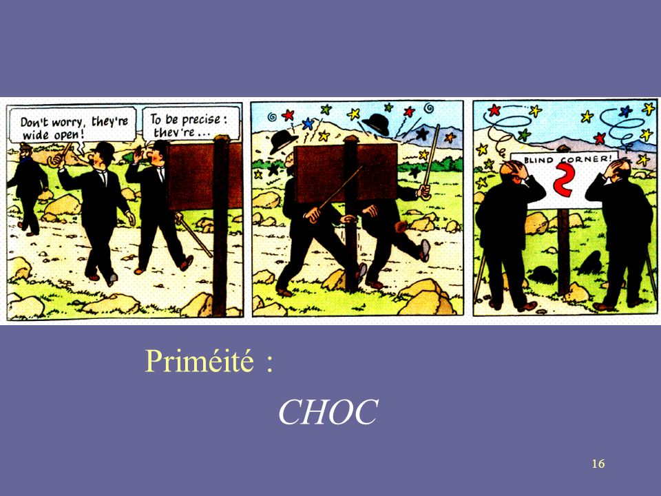 Priméité : CHOC
