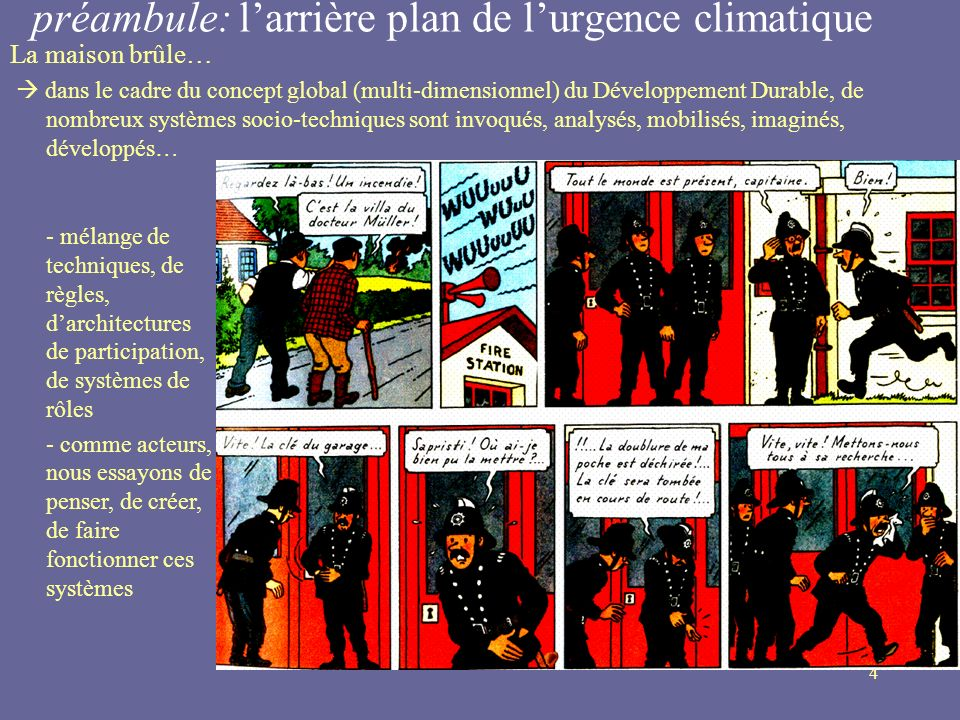 préambule: l'arrière plan de l'urgence climatique