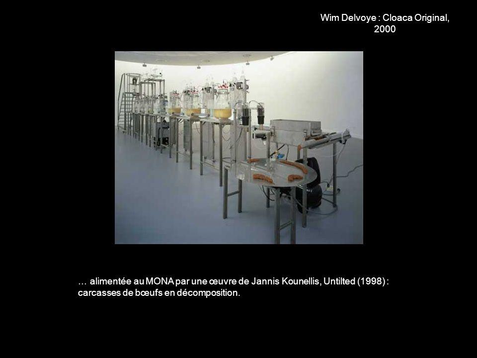 Wim Delvoye : Cloaca Original, 2000