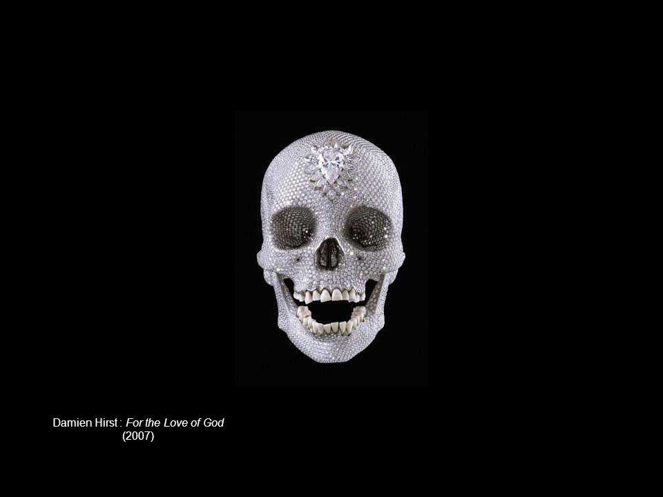 Damien Hirst : For the Love of God (2007)