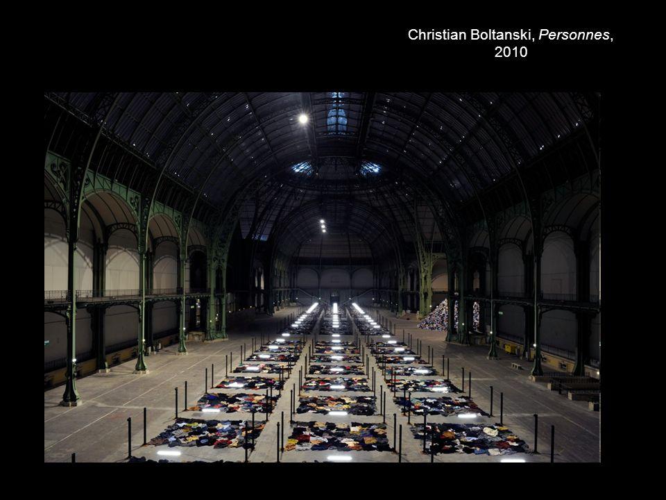 Christian Boltanski, Personnes, 2010