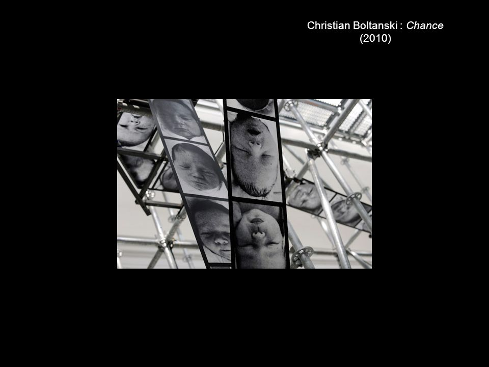 Christian Boltanski : Chance (2010)