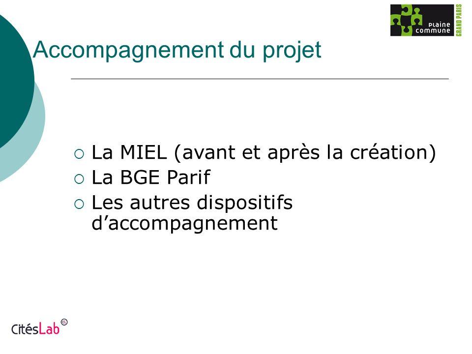 Accompagnement du projet